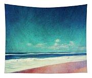 Summer Days IIi - Abstract Beach Scene Tapestry