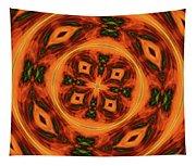 10697 Summer Fire Mask 54 Kaleidoscope 2 Tapestry
