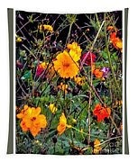 Summer Flowers Tapestry