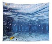 Summer Fun In Maldives Tapestry