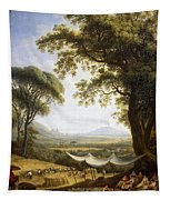 Summer Harvest On Caserta Plain Tapestry