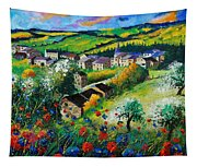 Summer In Rochehaut Tapestry