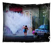 Summer In The City Tapestry