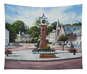 Summer In The Square Tapestry