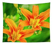 Summer Lilies Tapestry