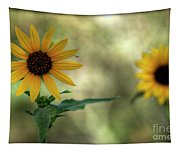 Summer Of Sunflowers  Tapestry