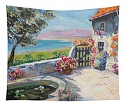 Summer Patio Tapestry