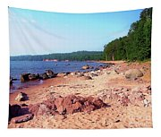 Summer Shores Of Lake Superior Tapestry