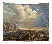 Summer Storm Near Pulborough. Sussex Tapestry