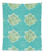 Summer Succulents- Art By Linda Woods Tapestry by Linda Woods