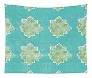 Summer Succulents- Art By Linda Woods Tapestry