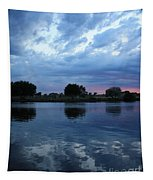 Summer Sunset On Yakima River 5 Tapestry