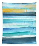 Summer Surf 2- Art By Linda Woods Tapestry