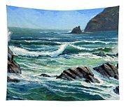Summer Surf Tapestry