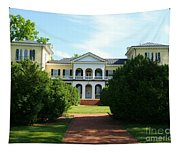 Summer Time At Sweet Briar House Tapestry