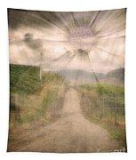 Summer's Last Light Tapestry