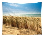 Summertime Blues Tapestry