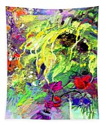 Sun Flower Bouquet Tapestry