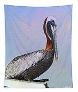 Sun Glow Pelican Tapestry