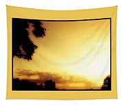 Sun Set Glow In Summer Tapestry