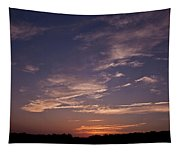 Sun Sets For The Day Tapestry