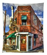 Sun Studio Rock N Roll Birthing Place Memphis Tennessee Art Tapestry