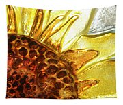 Sunburst Sunflower Tapestry