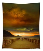 Sunday Storm Clouds Tapestry