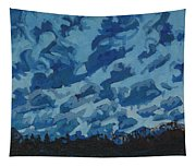 Sunday Sunrise Cumulus Floccus Tapestry