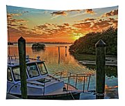 Sundown By H H Photography Of Florida Tapestry