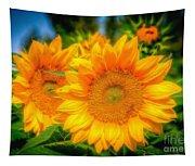 Sunflower 9 Tapestry