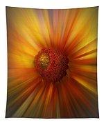 Sunflower Dawn Zoom Tapestry