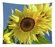 Sunflower Face Tapestry