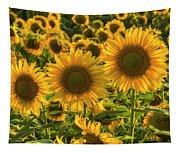Sunflower Family Tapestry