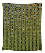 Sunflower Field Abstract Tapestry