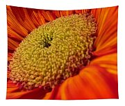 Sunflower Fire 1 Tapestry