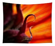 Sunflower Fire 2 Tapestry