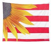 Sunflower Flag Tapestry