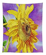 Sunflower Gold Tapestry