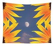 Sunflower Moon Tapestry