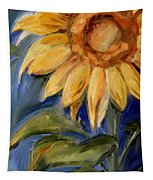 Sunflower Oil Painting Tapestry