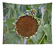 Sunflower Seedhead Tapestry
