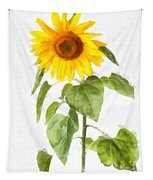 Sunflower Watercolor Tapestry