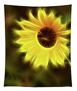 Sunflowers-4986-fractal Tapestry
