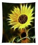 Sunflowers-5200-fractal Tapestry