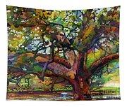 Sunlit Century Tree Tapestry