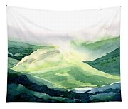 Sunlit Mountain Tapestry