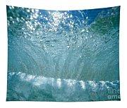Sunlit Wave Tapestry
