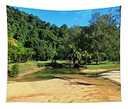 Sunny Beach Tioman Island Tapestry