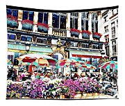 Sunny Day On The Grand Place Tapestry